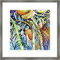 Tropical Design 2 Framed Print