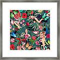 Tropical Fun Sexy  Framed Print