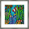 Tropical Gems Framed Print by Lisa  Lorenz