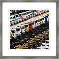 Trucks Framed Print
