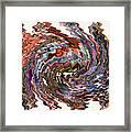 Turbulence II Framed Print