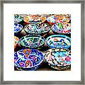 Turkish Bowls Framed Print