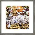 Turkish Delight In Istanbul Framed Print