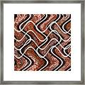 Turns And Curves Framed Print