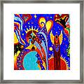 Angel Fire Framed Print