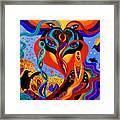Karmic Lovers Framed Print
