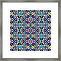 Twister Tile Framed Print
