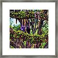 Two Buzzards In A Tree Framed Print
