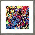 Elements Of Creation Framed Print