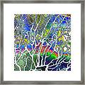 Under The Sea Abstract Framed Print