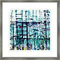 Underwater Oil Painting  Framed Print