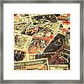 United Kingdom Proof Of Post Framed Print