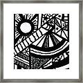 Night And Day 2 Framed Print