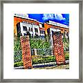 University Of Maryland - Byrd Stadium Framed Print