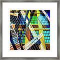 Urban Abstract 123 Framed Print