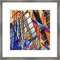 Urban Abstract 157 Framed Print