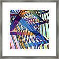 Urban Abstract 258 Framed Print