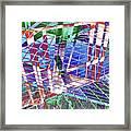 Urban Abstract 411 Framed Print