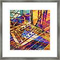 Urban Abstract 423 Framed Print