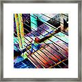 Urban Abstract 53 Framed Print