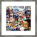 Us History The First Ten Years 21st Century Framed Print