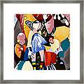 Us - The Manipulated Ones Framed Print