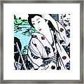 Utsukushii Josei Framed Print