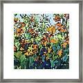 Vadasz Sunflowers Framed Print