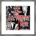 Vampire Noir Framed Print by The Scott Shaw Poster Gallery