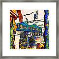 Van Gogh Takes A Wrong Turn And Discovers The Castro In San Francisco . 7d7547 Framed Print