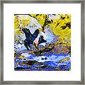 Van Gogh.s Flying Pig 3 Framed Print