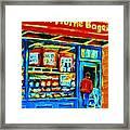 Van Horne Bagel Framed Print