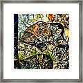 variation of Kardinsky Framed Print