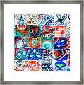 Variety Of Space Galaxies Stars Anomalies. Part 1 Framed Print