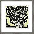 Vasum Yellow Framed Print