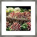 Vegetable At Market In Paris  Framed Print