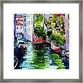 Venice Reflection Framed Print
