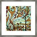 Venturing Out By Madart Framed Print