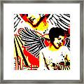 Vexed Angel Framed Print