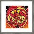 Vibrant Reds Framed Print