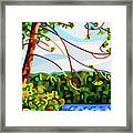View From Mazengah - Crop Framed Print