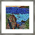 View From The Pacific Coast Highway Framed Print