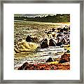 View Of The Sugarloaf Mountain From Killiney Framed Print