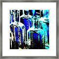 Vintage Bottles At A Flea Market Hard Framed Print