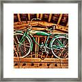 Vintage Cicycle Framed Print