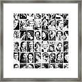 Vintage Portrait Photos Depict Womens Hairstyles Of The 1930s  - Doc Braham - All Rights Reserved. Framed Print