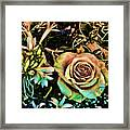 Vintage Rose Framed Print