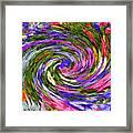 Vortex Abstract Art No. 18 Framed Print