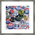 Vote 4 Me Framed Print by Guy Ricketts