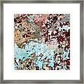 Wall Abstract 128 Framed Print